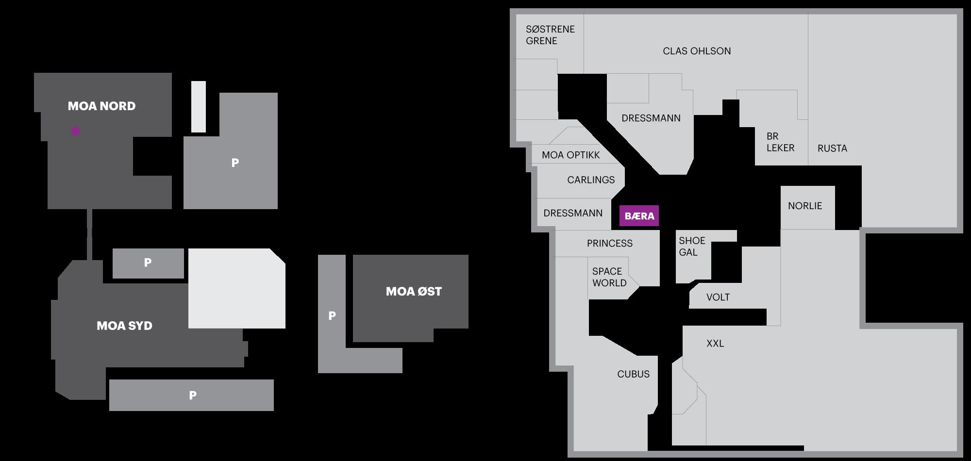 moa kart Bæra   Smoothie & Juicebar   Ålesund